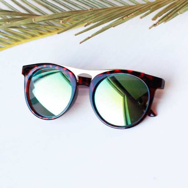 Unisex Oval Bridge Sunglasses