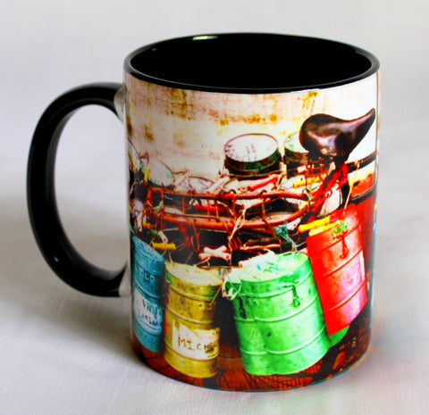 Dabbas Print Mugs - Set Of 2
