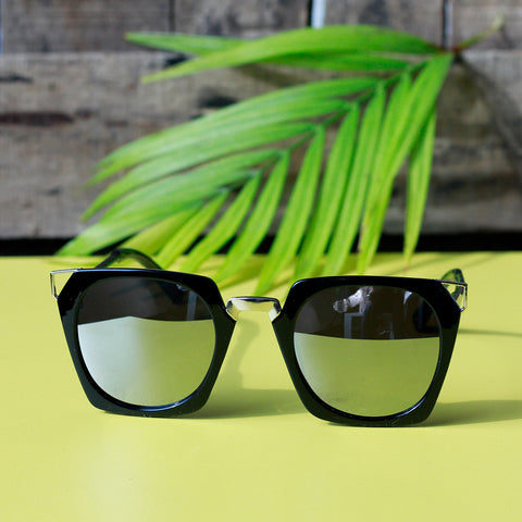 Angular Frame Sunglasses