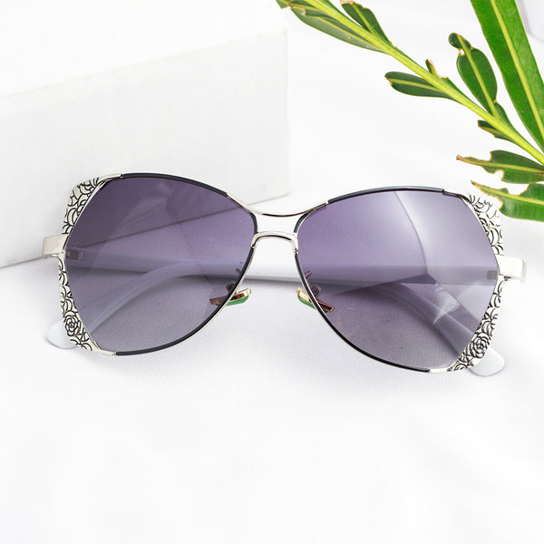 Etched Rim Women's Sunglasses