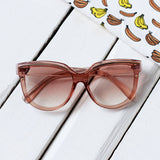 Cat-Eye Sunglasses with Gradient Lens