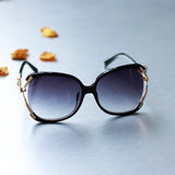 Decorative Frame Women Oversize Sunglasses