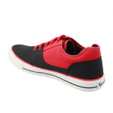 Rexona Lace Up Sneakers - Red : Black