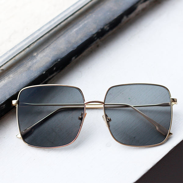 Sleek Oversized Sunglasses