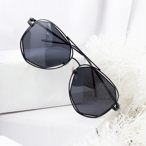 Geometric Reflector Sunglasses