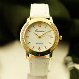 Estlyn Women Crystal Dial Watch