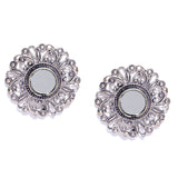 Mirror Stud Earrings