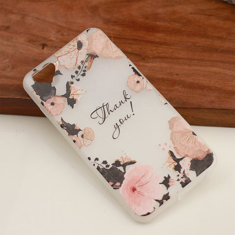 Blissful Blooms Flower Soft iPhone Cover