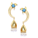 Gold Antique Shape Earrings