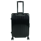 Black Solid Trolley Bag