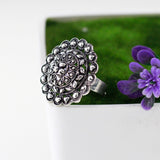 Antique Silver Tone Ring