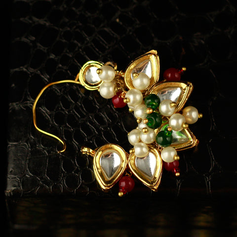 Kundan Studded Nose Pin