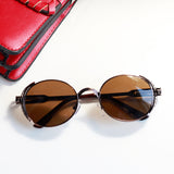 Oval Steampunk Sunglasses