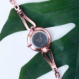 Elantia Crystal Dial Wrist Watch