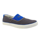 Sportif Grey Royal Blue Regal Slim On Sneakers