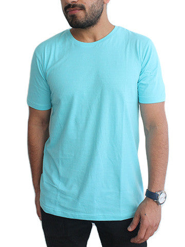 Cotton T-Shirts For Men By Fizz: Blue