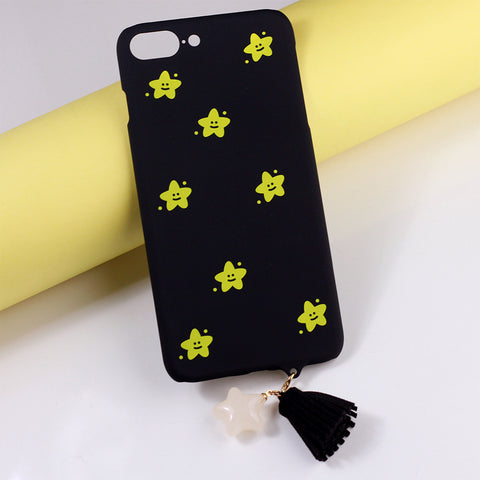 Black Star Printed iPhone Cover