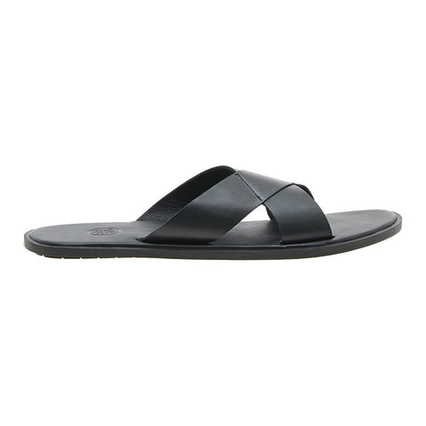 Tuscany Matte Black Men's Sandals
