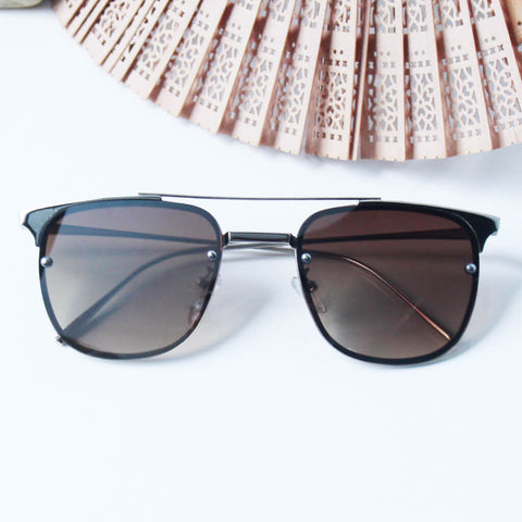Vintage Bridge Sleek Sunglasses