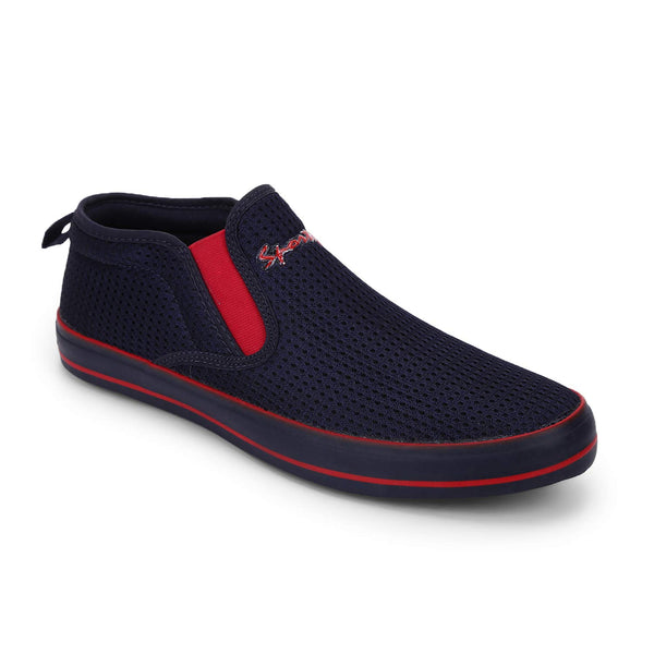 Rexona Navy/Red Hypermax Slip On Sneakers
