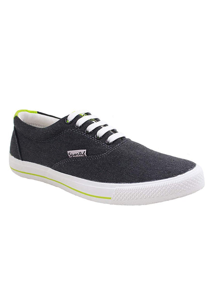 Rexona Grey Lime Lace Up Sneakers