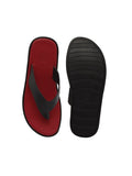 Rome Red & Black Men's Slippers