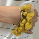 Gold Thread Bracelet