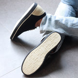 Dual Tone Men's Canvas Sneakers