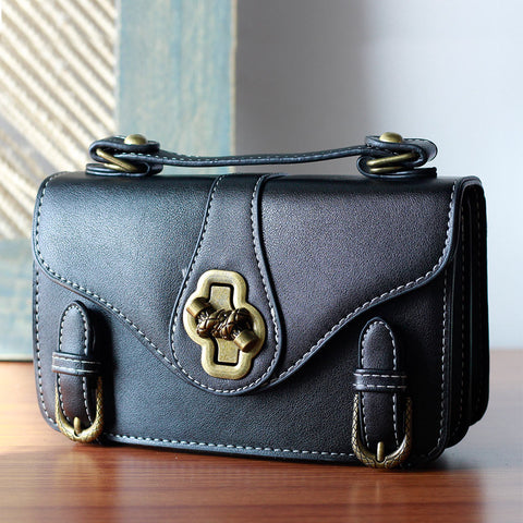 Double Buckle Sling Bag