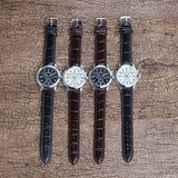 Unisex Leather Watch Collection