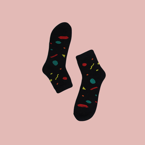 Funky Unisex Fizz Socks: Party Pop