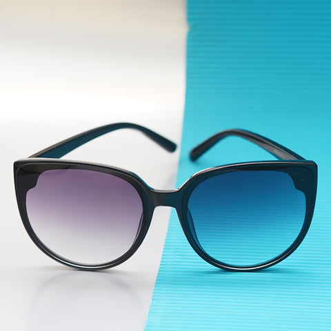 Cat Eye Sunglasses with dual toned lenses