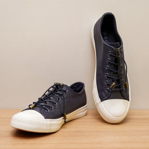 Toggle Lace PU Sneakers