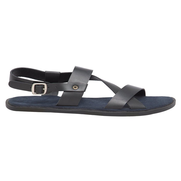 Florence Blue Men's Strappy Sandals