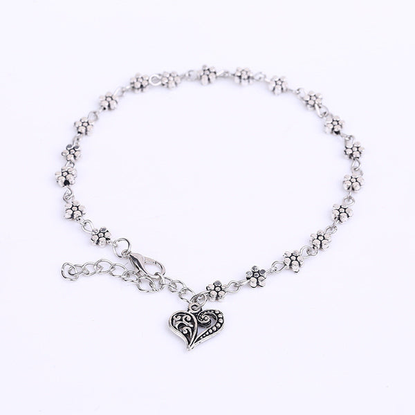 Flowers Of Love Anklet
