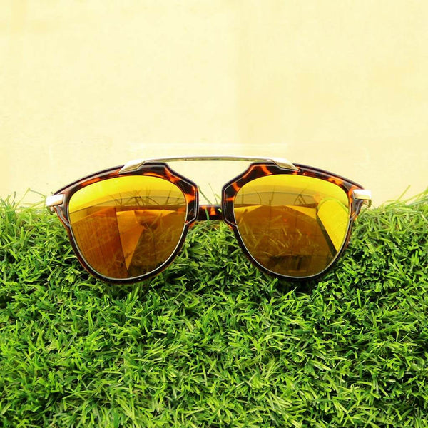 Metallic Bridge Wanderer Sunglasses
