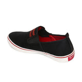 Rexona Black/Red Airmax Slip On Sneakers