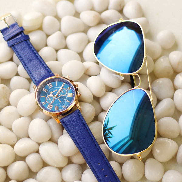 Octa Aeronaut Sunglasses & Roman Collection Watches