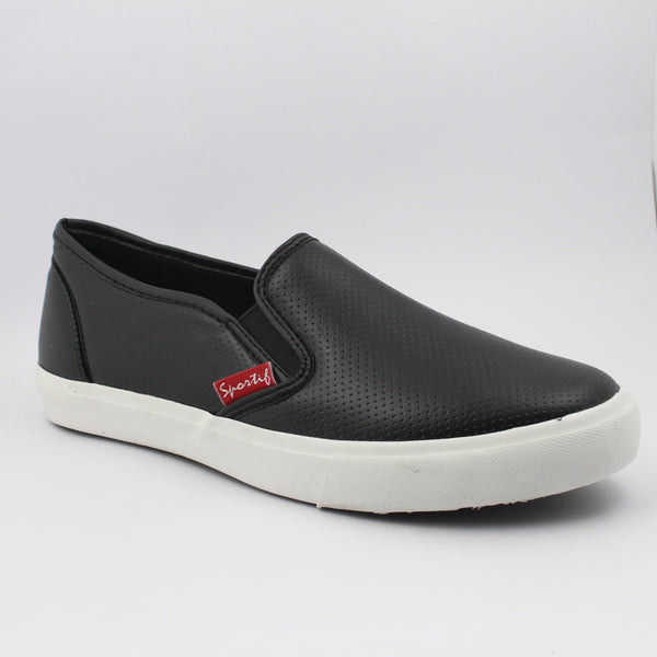 Rexona Black Slip On Sneakers