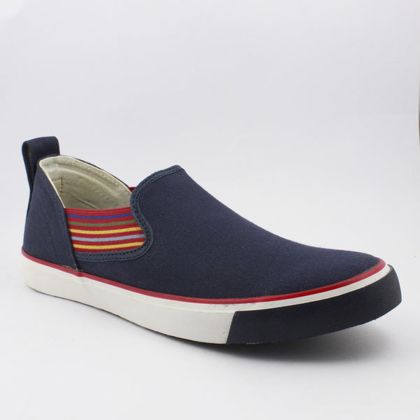 Rexona Navy/Red Slip On Sneakers