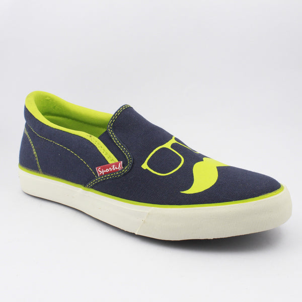 Rexona Blue Slip On Sneakers