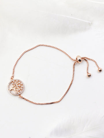 Tree of life Bracelet (Rose Gold)