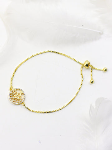 Tree of life Bracelet (Golden)