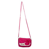 Envie Quilted Pink  Zipper Closure Crossbody Bag -1