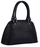 Aliado Faux Leather Black Coloured Zipper Closure Handbag - 12