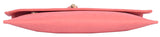 Envie Faux Leather Peach Coloured Magnetic Snap Sling Bag