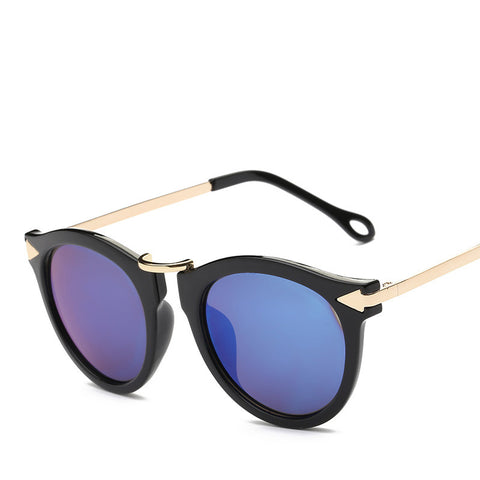 Octa Fashion Sunglasses: Round Wayfarer