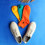 Fashion Sneaker Pretty In Suede (Grey) & Pack of 3 Socks for Women