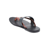 Turin Black Men's Multi-strap Sandals