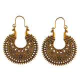 Gold Tone Chandbali Earrings